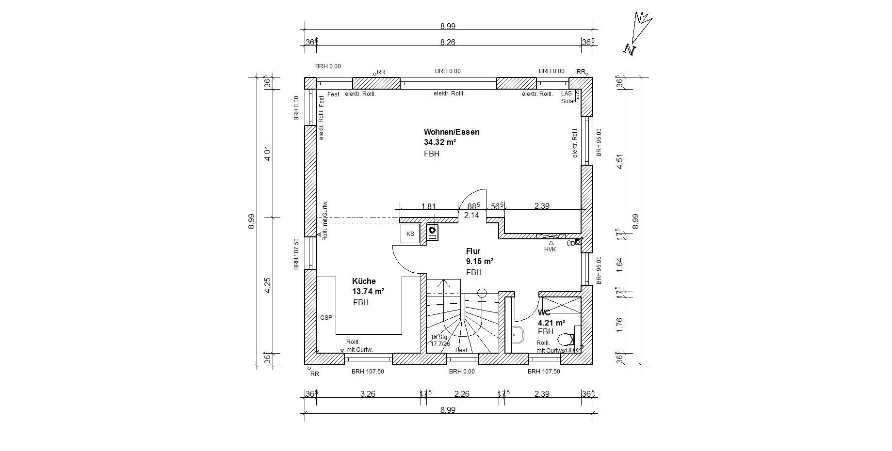 wohnbaukonzept efh klassisch. Black Bedroom Furniture Sets. Home Design Ideas